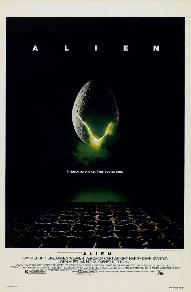 Aliens, el octavo pasajero (Póster USA)