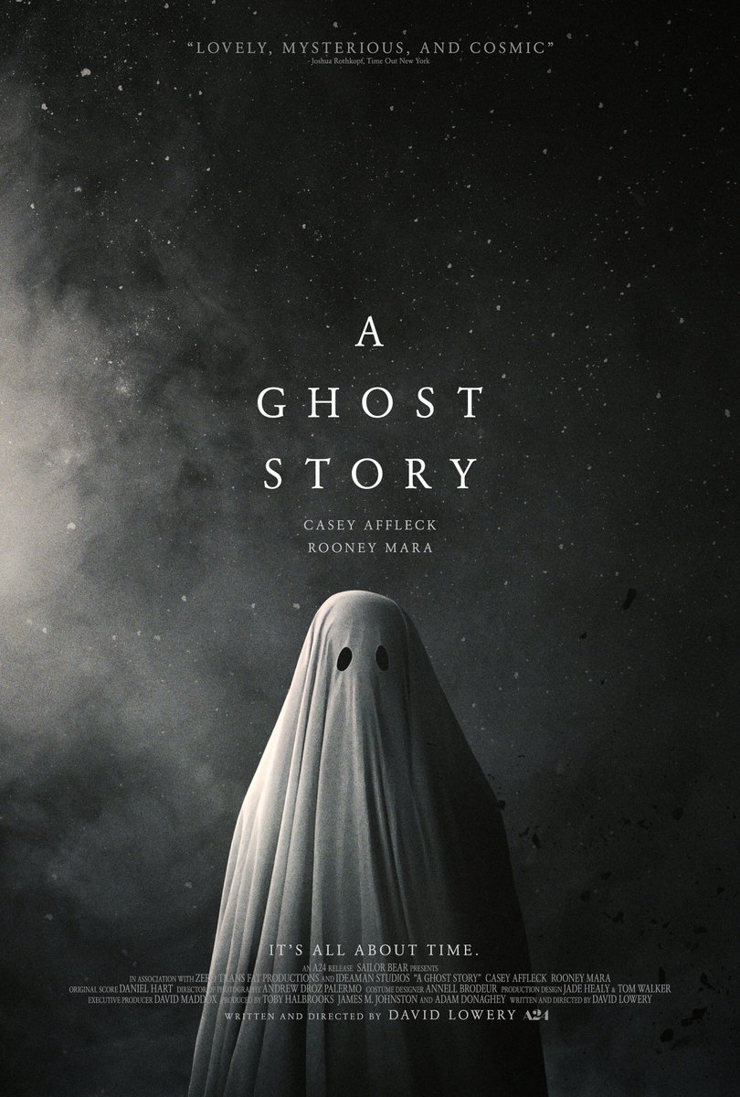 A ghost story (Póster USA)