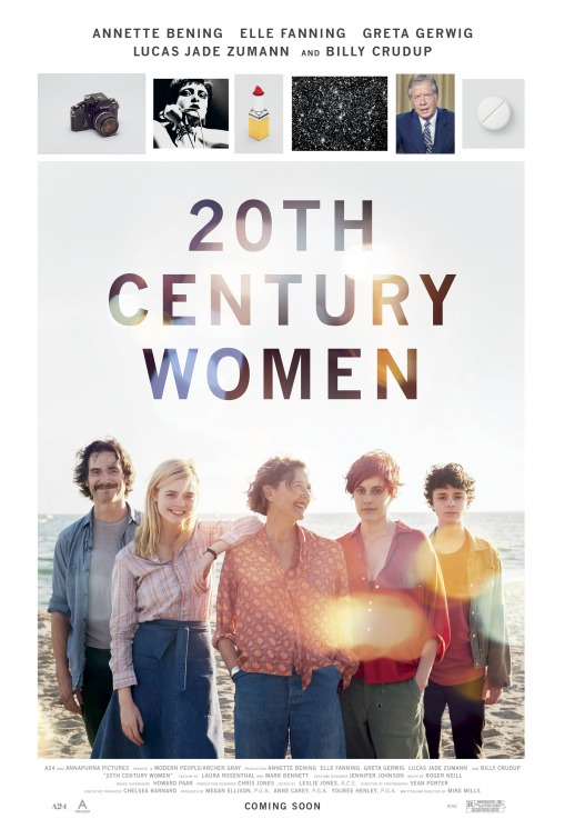 20th Century Women (Póster USA)