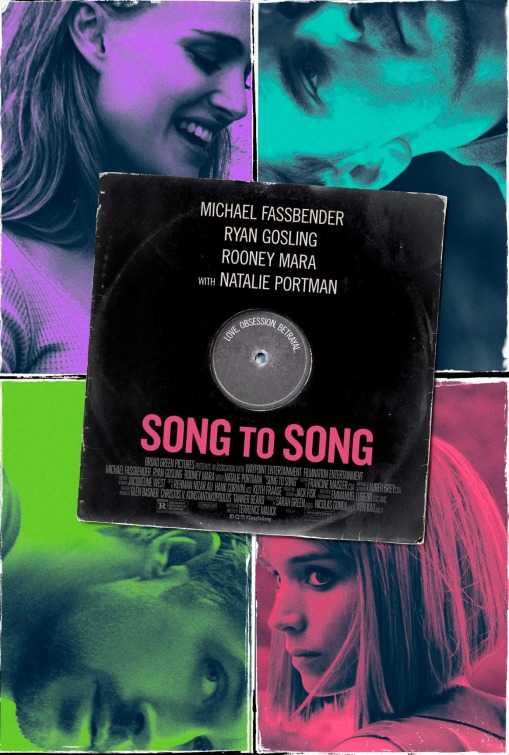 Song to song (Póster USA)